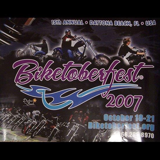 Biketoberfest 2007 Official Poster