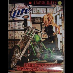 Bike Week 2007 Miller Lite Motorcycle Posters