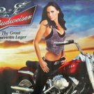 Bike Week Motorcycle Bud Poster featuring Amanda Beard