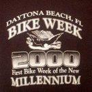 Collectible Bike Week T Shirt 2000 Black Small FREE SHIP