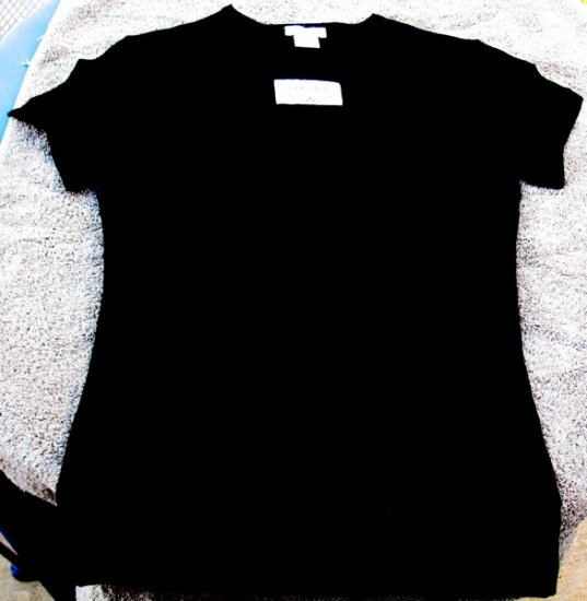 Versace Women�s Black T Shirt Size Small New in Box
