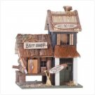 WOOD BAIT SHOP BIRDHOUSE - Code: 31245