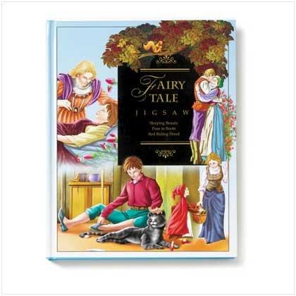 Fairy Tale Puzzle Book - Code: 36447