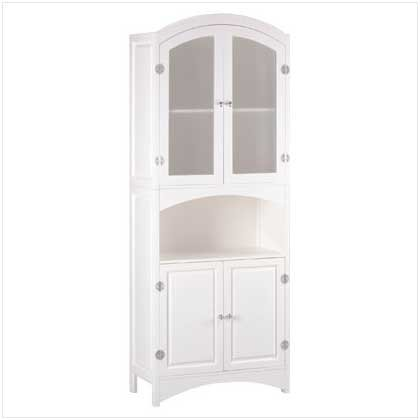 Wood Linen Cabinet with Drawers - Code: 35014
