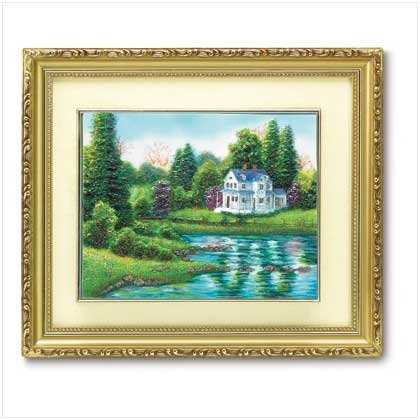LAKESIDE DREAM WALL ART - Code: 38807