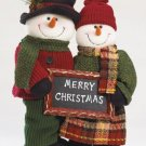 Plush Standing Snowman Couple - Code: 35711