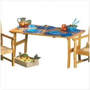Pine Wood Picnic Table - Code: 36698