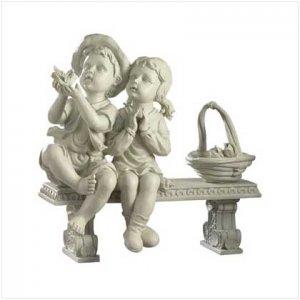 Alab Garden Boy & Girl / Bench - Code: 32225