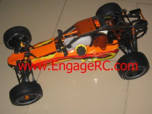 1/5 RC Rolling Chassis compatible Fits HPI KM Baja