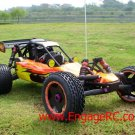 NEW 1/5 Nitro RC King BAJA 2WD 23cc Buggy RTR Off-Road