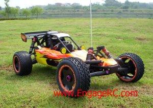 NEW 1/5 Nitro RC King BAJA 2WD 23cc Buggy RTR Off-Road
