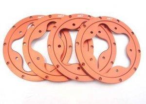 Nitro RC Flower Aluminum Bead Locks fit HPI 5B 5T 2.0SS