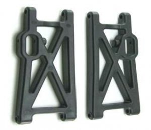 Nitro RC 2 Alloy Rear Lower Arms fit KM HPI 5B 2.0 SS