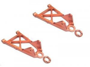 Nitro RC Aluminum 2 Front Lower Arms Fit HPI 5B 5T 2.0