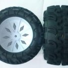 1/5 RC FS Racing Rampage Monster Truck Tire/Rim Set 2pc