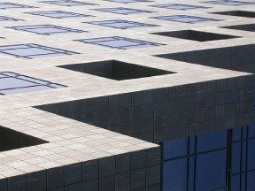 DIGITAL ART ~ GEOMETRIC BUILDING ABSTRACT jpg Photo DESKTOP WALLPAPER