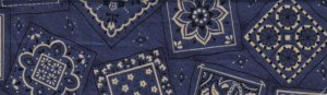 Dark Blue Designs - Med