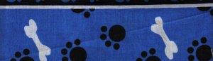 Dark Blue Puppy Paws - Large