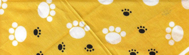 Yellow Puppy Paws - Med
