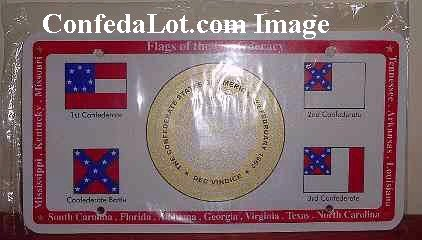 50 Confederate License Tags Plates NEW Wayyy BeLowwww WholesaLe