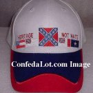 12 White Confederate Caps Heritage not Hate NEW Below Whoesale Priced