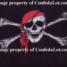 Jolly Roger Skull n Bones Fleece Throw  4ft x 5ft in NEW