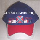 60 BLUE Confederate Flag Caps NEW Below Wholesale Priced NEW
