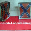 Confederate Glass Heavy Paperweight complete with gift box NEW