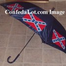 Confederate Umbrella Auto-open Huge sized 47 inch wide x 32 Inch Long NEW Heavy duty
