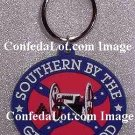 Confederate Southern By The Grace Of God Keychain NEW