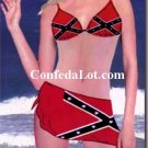 Confederate Bikini Set with Wrap NEW