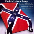 MINK Blanket Confederate Full Queen sized NEW Soft Thick Plush Huge...