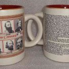 Civil War Confederate Commanders Mug Heavy Thick High End Quality Porcelain NEW