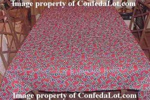 Confederate Tablecloth 68 inch Long Multi-Flag  Style NEW