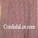Confederate Window Curtains Set 2 Panel 48in x 63in NEW