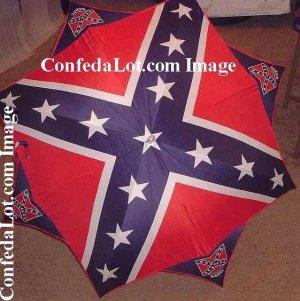 ReBeL Parasol Sunbrella Confederate Huge 48 Inch Wide x 32 Inch Long size NEW