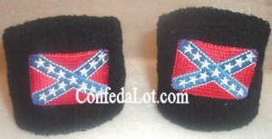Confederate Sport Wristband AnkleBand set of 2 NEW Wrist