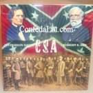 4x4 Tile Robert E Lee and His Generals Porcelain 4x4 Tile NEW Confederate civil war