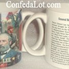 Confederate Robert E Lee Collage Mug NEW Heavy duty fine Quality Porcelain