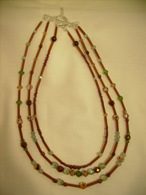 3-STRAND NECKLACE SET