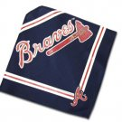 Atlanta Braves Official MLB Dog Bandana Size Medium Large