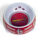 St Louis Cardinals Dog Bowl Size Small Holds 3 Cups