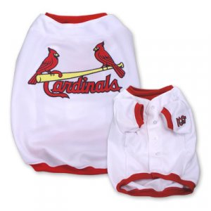 St Louis Cardinals Original MLB Dog Jersey Shirt Size Small