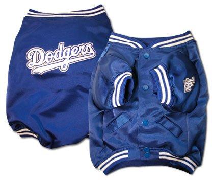 Los Angeles Dodgers MLB Dog Baseball Jacket Coat Size Small