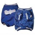 Los Angeles Dodgers MLB Dog Baseball Jacket Coat Size Large