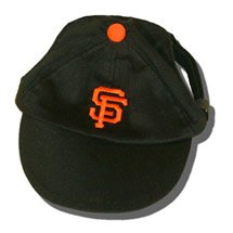San Francisco Giants MLB Dog Baseball Cap Hat Size Small