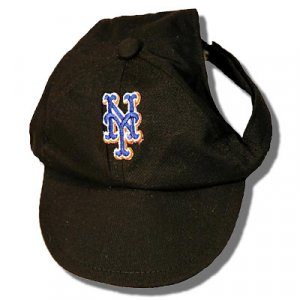 New York Mets Dog Baseball Cap Hat Size Small