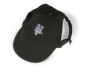 New York Mets Logo Dog Baseball Cap Hat Size M/L
