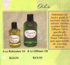 Celestial Waters 4 oz  Diffuser Oil