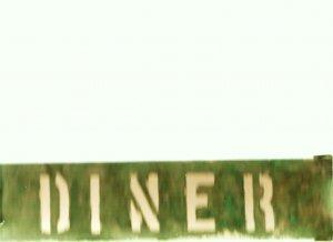 COPPER DINER SIGN